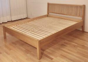 Bett 07-005-H mit zwei Lattenrosten à 80×200 cm (b×l)