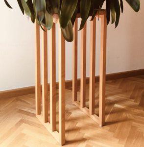 Blumenständer/Beistelltisch 80×35×35 cm (h×b×t)