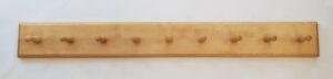 Kleiderhakenbrett 100×12 cm (l×h), auch in 150 cm Länge erhältlich