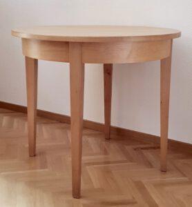Tisch 78×90 cm (h×Ø), auch in weiteren Größen erhältlich